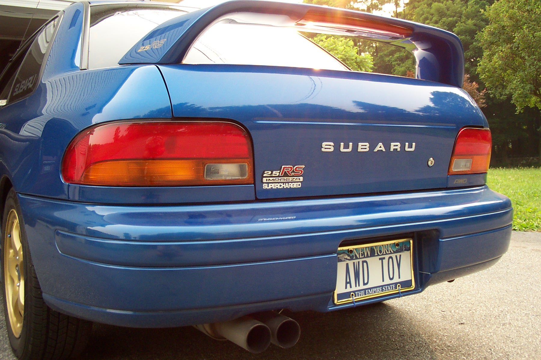 Compressed Air Car >> Subaru Impreza 2.5RS (1998) – Freelance Web Developer