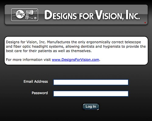 Designs For Vision - Rep order tool